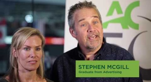 Algonquin College 50th Anniversary - Nadine Buckley and Stephen McGill