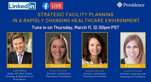 Strategic Facility Planning in a rapidly changing health care environment