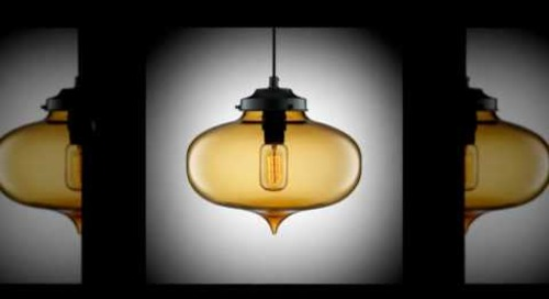 Minaret Modern Pendant Light