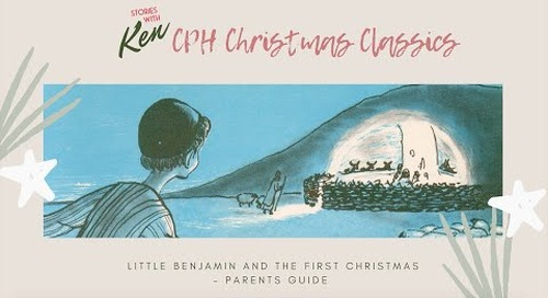 Parents Guide for Little Benjamin and the First Christmas   Children's Bible Story Book
