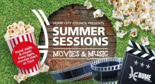 Hume Summer Sessions: Movies & Music