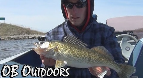 Fox River Walleye and White Bass Action - OB Outdoors: Episode 6