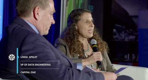 Cloud Analytics Summit: Fireside Chat with Capital One
