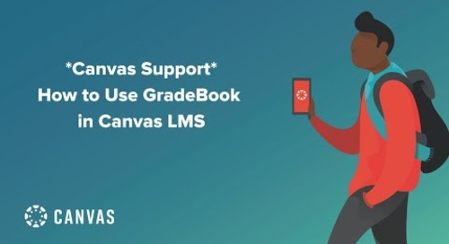 Livestream: Canvas Support - How to Use Gradebook in Canvas LMS