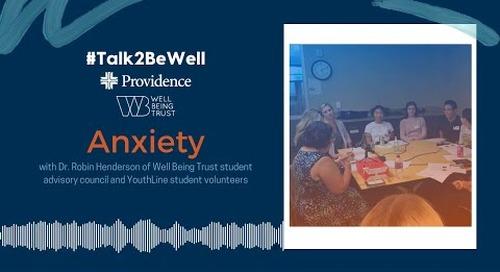 Talk2BeWell: Anxiety