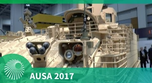AUSA 2017: BAE Systems' Armoured Multi-Purpose Vehicle