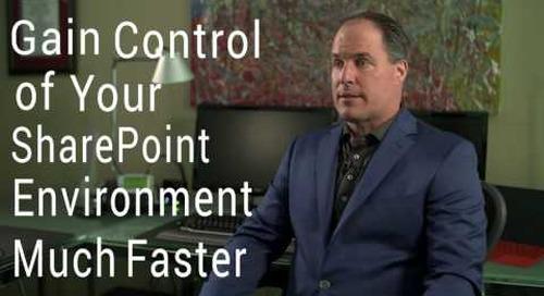 Gain Control of SharePoint with SPorganizer
