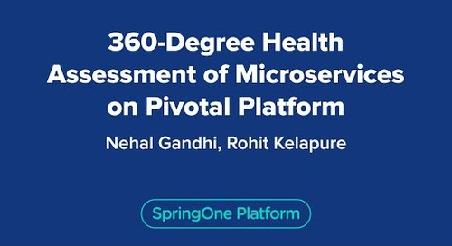 360 Degree Health Assessment of Microservices on the Pivotal Platform