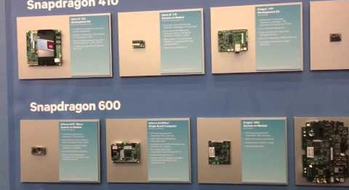 """Embedded World 2016 Video: Qualcomm says, """"Snapdragon IS for embedded!"""""""
