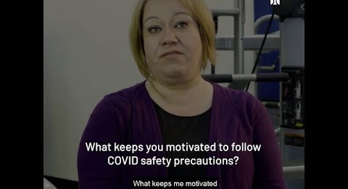 Yolanda del la Torre - What keeps you motivated to keep COVID-19 Safety Protocols?