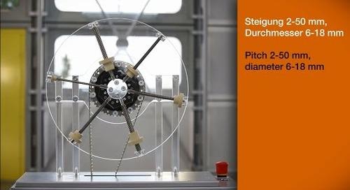 dryspin® lead screw technology