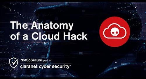Webinar | The Anatomy of a Cloud Hack