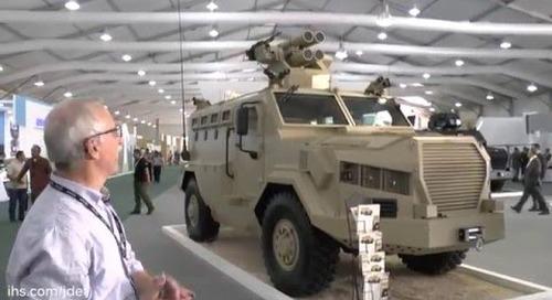 SOFEX 2016: KAADB AL-Wahsh 4x4 vehicle