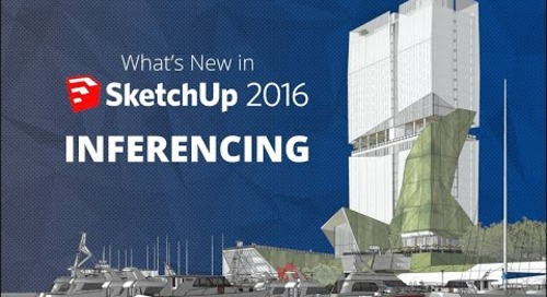 Inferencing in SketchUp 2016