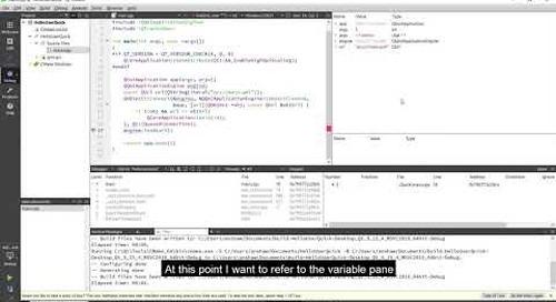 Debugging and profiling inside Qt Creator