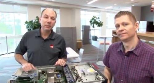ThinkServer RD450 video walkthrough - review #1