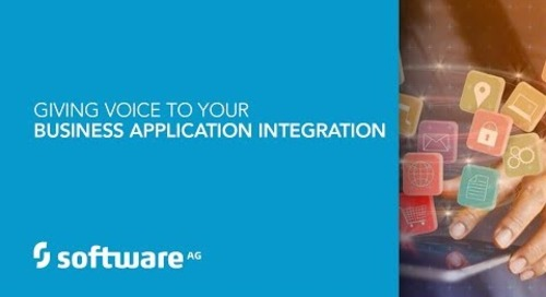 Demo: Giving Voice to Your Business Application Integration