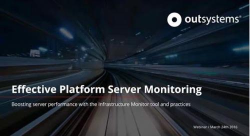 Effective Platform server monitoring