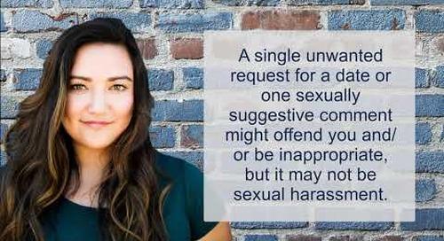 PeopleReady Associates Sexual Harassment Training - Illinois