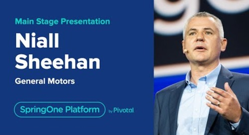 Niall Sheehan at SpringOne Platform 2019