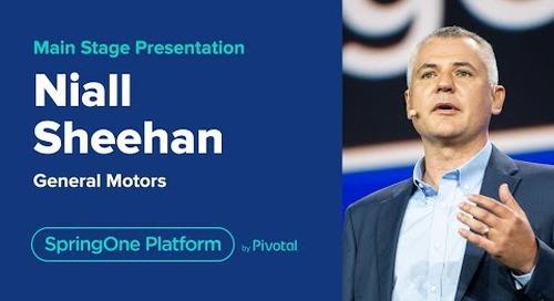 Niall Sheehan at SpringOne Platform 2019