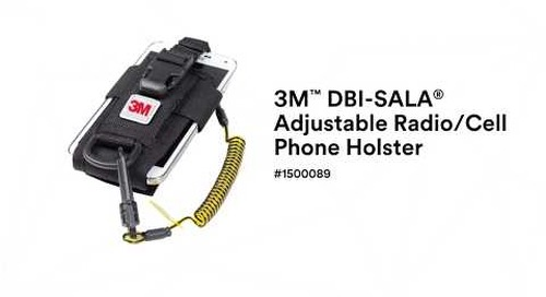 How to properly use the 3M™ DBI-SALA® Radio Holster