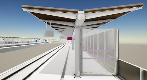 Tekla BIM Awards France 2020 : BAUDIN CHATEAUNEUF - Gare ferroviaire de Nîmes