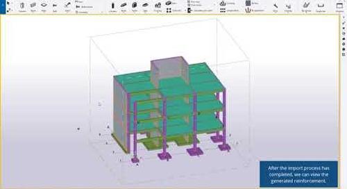 Easily Transfer Tekla 3D Rebar Design Intent to Reuse for Fast Automatic Detailing
