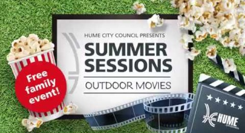 Hume City Counci presents Summer Sessions Outdoor Movies 2019