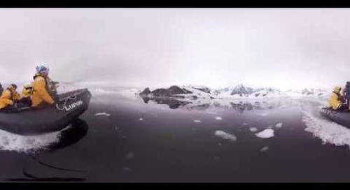 Antarctica: Quark Expeditions Teaser (360° VR)