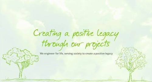 Creating a positive legacy through our projects