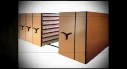 Manual or Motorized Compact Mobile Storage Shelving Filing Info@SouthwestSolutions.com