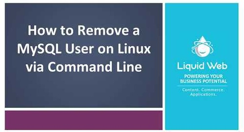 How to Remove a MySQL User on Linux via the Command Line