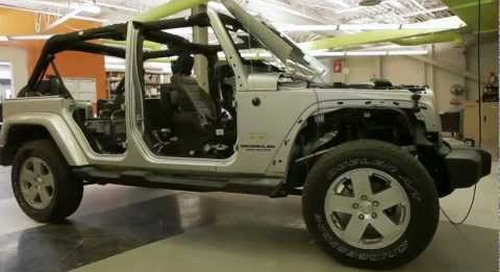 The making of the QNX reference vehicle - Jeep Wrangler