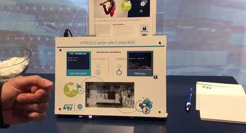 STMicroelectronics at arm TechCon 2018