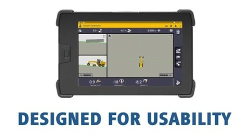 Trimble Earthworks for Motor Graders UI/UX