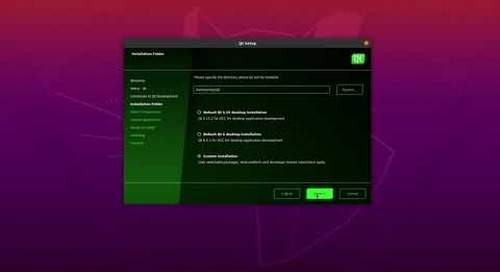 How to install and set up Qt for Device Creation on Linux