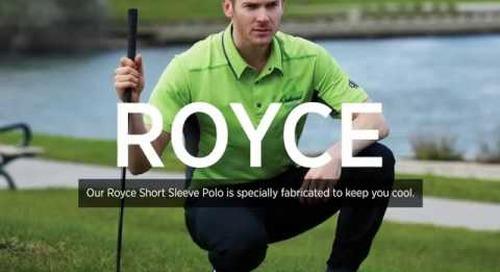 Royce Short Sleeve Polo
