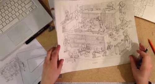 Highlights Hidden Pictures Illustration Time Lapse