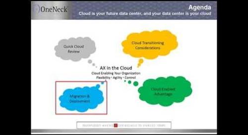 Dynamics AX in the Cloud Webinar