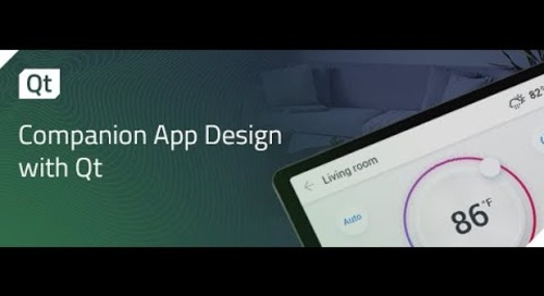Companion App Design with Qt {On-demand webinar}