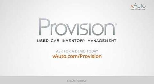 vAuto Provision vRank Review