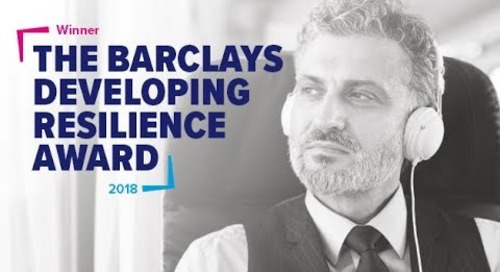 Databarracks win The Barclays Developing Resilience Award
