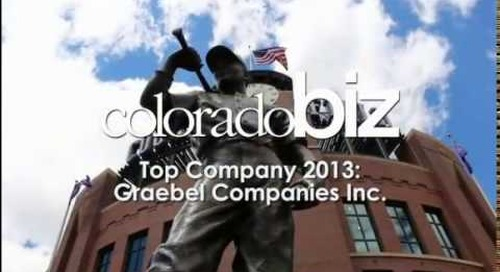 CEO Bill Graebel interviewed by ColoradoBiz Magazine: #1 Service Company in Colorado for 2013