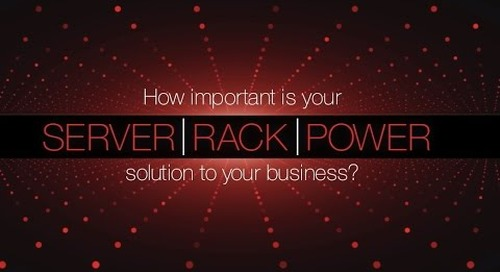 Lenovo Rack & Power Infrastructure Solutions for the Data Center