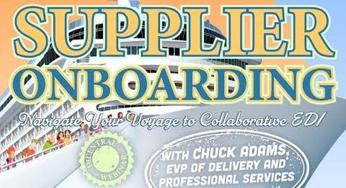Supplier Onboarding