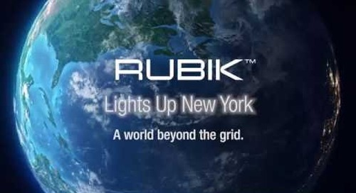 Rubik Lights up the New York Sidewalks with Architectural Lighting – Acuity Brands