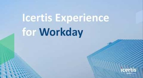 The Icertis Experience for Workday