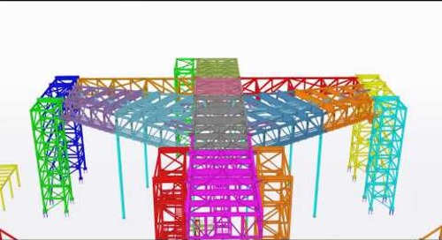 Boeing Static Test Frame - 2018 Tekla North American BIM  Awards