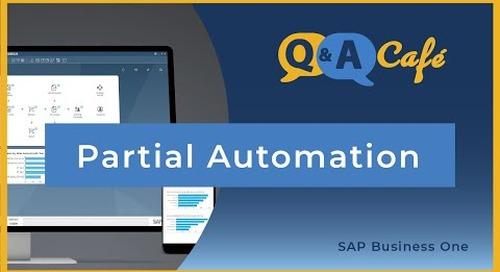 Q&A Café: Establishing Partial Automation in Goods Receipt PO in SAP Business One
